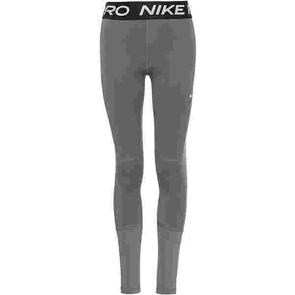 Nike Pro Tights Kinder carbon heather-white