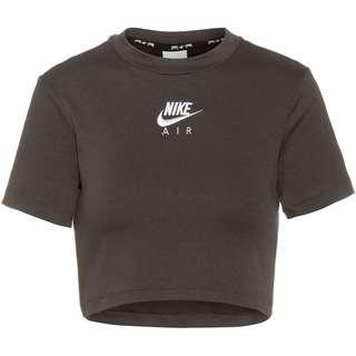 Nike NSW Air Croptop Damen dk smoke grey-black-white
