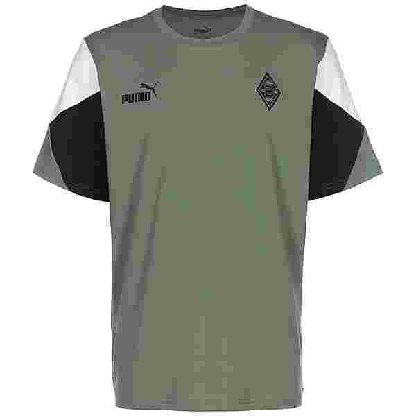 PUMA Borussia Mönchengladbach FtblCulture Trikot Herren grün / weiß