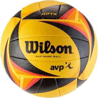 Wilson OPTX AVP VB OFFICIAL GB Volleyball yellow-black-orange