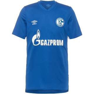 UMBRO FC Schalke 04 21-22 Heim Trikot Herren deep surf blue-brilliant white