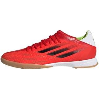 adidas X SPEEDFLOW.3 IN Fußballschuhe red