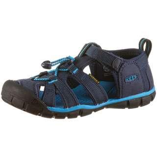 Keen Seacamp II CNX Outdoorsandalen Kinder black iris-vivid blue