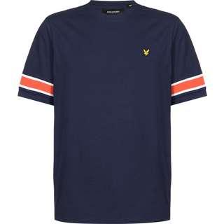 Lyle & Scott Sleeve Rib Insert T-Shirt Herren blau