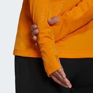 adidas TERREX Tracerocker 1/2 Zip Longsleeve Langarmshirt Damen Orange