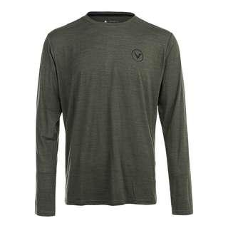 Virtus JOKER M L/S Tee Langarmshirt Herren 3098 Military Green