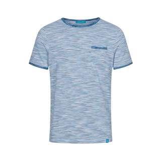 Colours & Sons Mario T-Shirt Herren blau