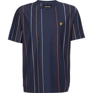 Lyle & Scott Vertical Stripe T-Shirt Herren blau