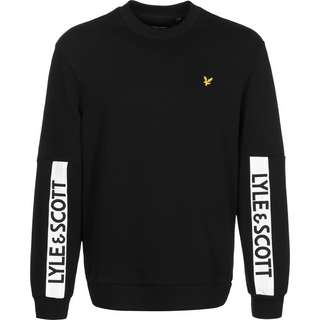 Lyle & Scott Branded Sweatshirt Herren schwarz