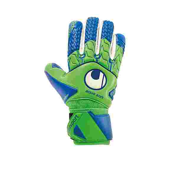 Uhlsport Aquasoft HN Windbreaker TW-Handschuh Torwarthandschuhe Herren gruenblau