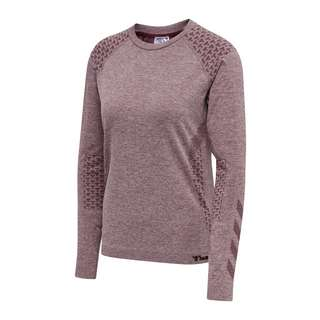 hummel hmlci Seamless Sweatshirt Damen Funktionssweatshirt Damen rosa