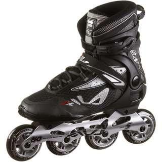 FILA Legacy Pro 80 Inline-Skates black-silver-red
