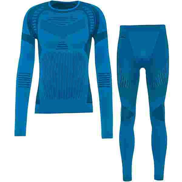 moorhead Extra Warm Wäscheset Herren methyl blue