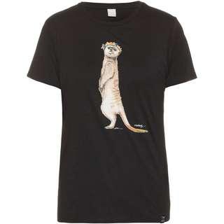 iriedaily Frida Erdmann T-Shirt Damen black