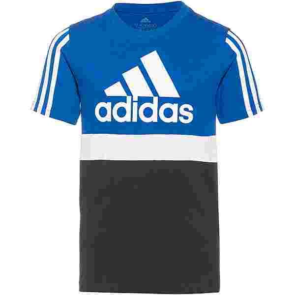 adidas ESSENTIALS COLORBLOCK T-Shirt Kinder bold blue-legend ink