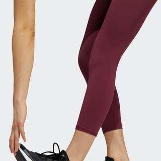 adidas Training Aeroknit High-Rise 7/8-Tight Tights Damen Weinrot