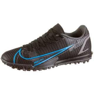 Nike Mercurial VAPOR 14 ACADEMY TF Fußballschuhe black-black-iron grey-univ blue