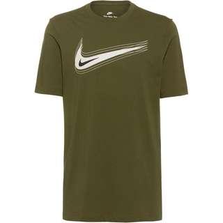 Nike NSW SWOOSH T-Shirt Herren rough green-light bone