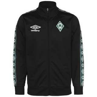 UMBRO SV Werder Bremen Icon Tricot Sweatjacke Herren dunkelgrün / schwarz