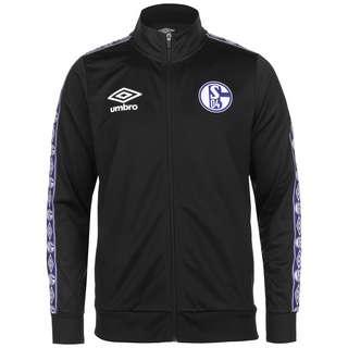 UMBRO FC Schalke 04 Icon Tricot Sweatjacke Herren schwarz