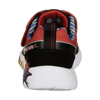 Skechers Dynamight Defender Squad Sneaker Kinder schwarz / rot