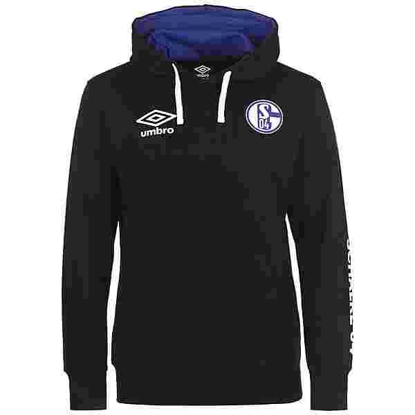 UMBRO FC Schalke 04 Icon OH Hoodie Herren schwarz