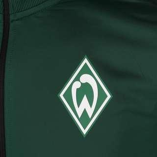 UMBRO SV Werder Bremen Icon Tricot Sweatjacke Herren schwarz / dunkelgrün