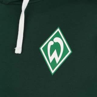 UMBRO SV Werder Bremen Icon OH Hoodie Herren dunkelgrün / weiß