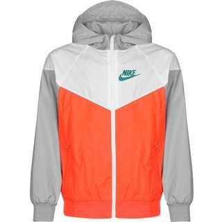 Nike Sportswear Windbreaker Kinder grau/orange/weiß