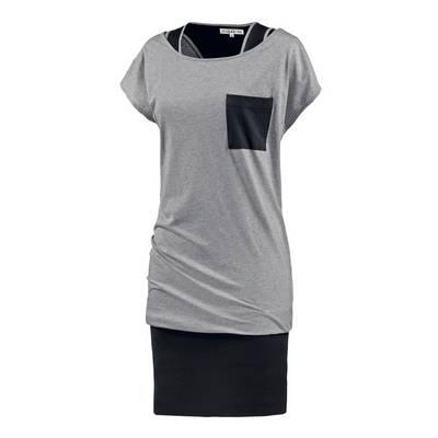 Billabong Agata Jerseykleid Damen grau/schwarz