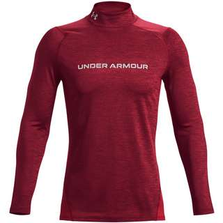 Under Armour Cold Gear Armour Funktionsshirt Herren league red -reflective