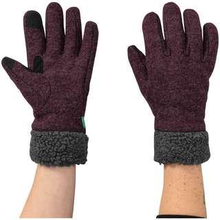 VAUDE Tinshan IV Fingerhandschuhe Damen cassis