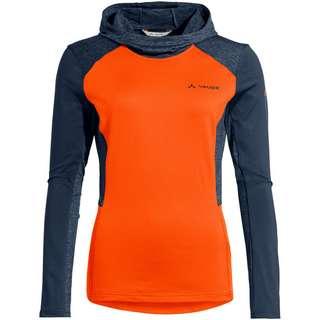VAUDE Qimsa LS T-Shirt Trikot Damen neon orange