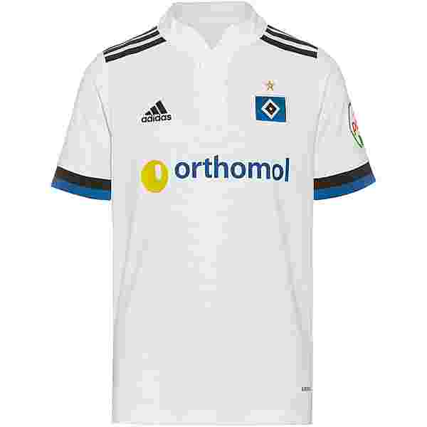 adidas Hamburger SV 21-22 Heim Trikot Kinder white