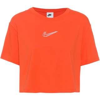 Nike NSW Croptop Damen orange