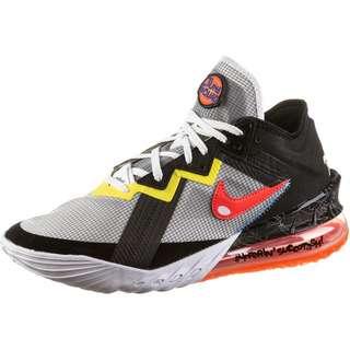 Nike Lebron XVIII Basketballschuhe Herren white-bright crimson-black-yellow strike