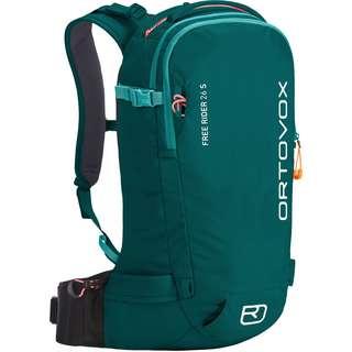ORTOVOX FREE RIDER 26 S Tourenrucksack pacific green