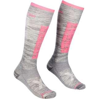ORTOVOX SKI COMPRESSION LONG SOCKS W Skisocken Damen grey blend