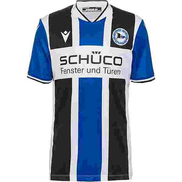 macron Arminia Bielefeld 21-22 Heim Trikot Herren schwarz-blau-weiß