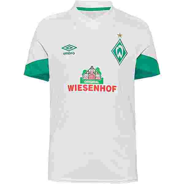 UMBRO Werder Bremen 21-22 Auswärts Trikot Kinder weiß