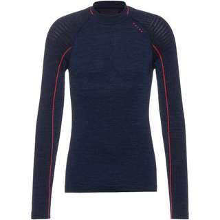 Falke WT Longsleeved Shirt Trend m Layerlangarmshirt Herren pool-neon coral