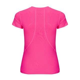 BIDI BADU Calla Tech Roundneck Tee Tennisshirt Kinder pink