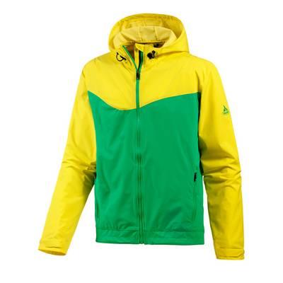 VAUDE Gravit Jacket Fahrradjacke Herren gelb/grün