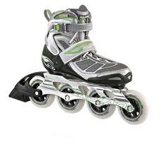ROLLERBLADE Tempest90 Fitness Skates Damen grau/grün