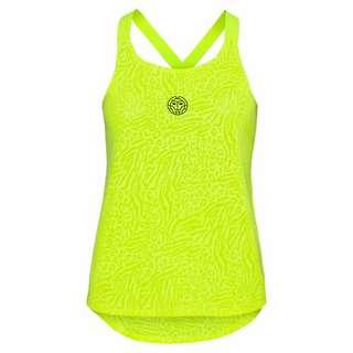 BIDI BADU Maila Burnout Tech Tank Tennisshirt Damen neongelb