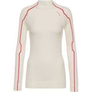 Falke Layerlangarmshirt Damen offwhite-neon red