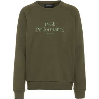 Peak Performance Original Sweatshirt Damen thyme green