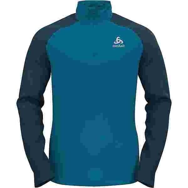 Odlo Zeroweight Funktionsshirt Herren deep dive-stunning blue