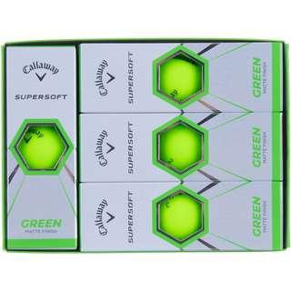 Callaway SUPERSOFT Golfball grn