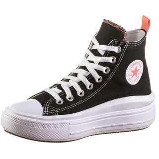 CONVERSE CHUCK TAYLOR ALL STAR MOVE Sneaker Kinder black-pink salt-white